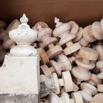 boxload of finials
